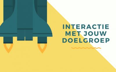 Binden van jouw doelgroep en interactie bevorderen